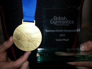 TG British Champions Senior Mixed 2013 Gold